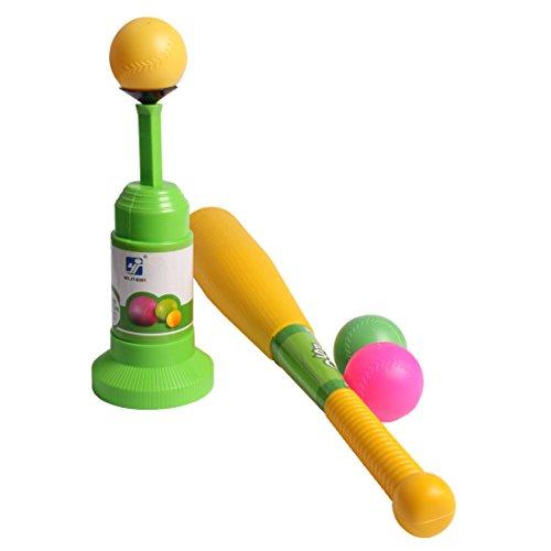 Andux Kinder Semi-Automatic Launcher Baseball Trainer Set für Indoor/Outdoor-Einsatz BQTZ-01