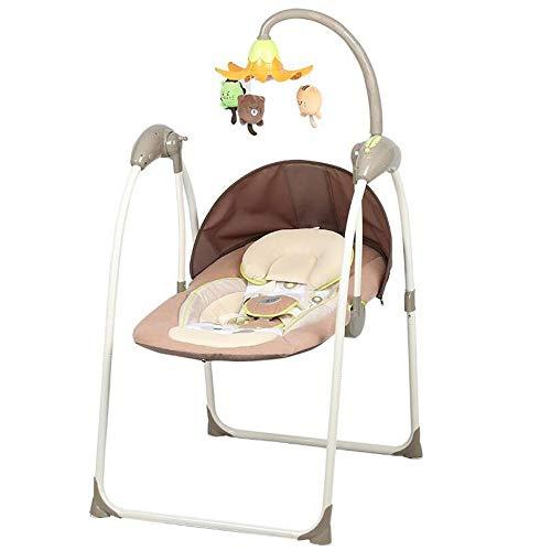 Silla Eléctrica Mecedora Para Bebé Música Cuna Para Bebé Sillón Reclinable Vibración Calmante...