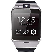 Reloj Inteligente,Xinan Aplus GV18 Impermeable Teléfono GSM NFC para Samsung iPhone (Negro)