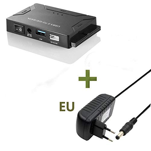 USB 3.0 to SATA IDE ATA Data Adapter 3 in 1 for PC Laptop 2.5