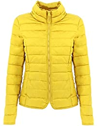 check out 41258 1c339 Amazon.it: piumino giallo donna: Abbigliamento