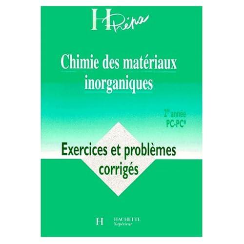 Chimie des matériaux inorganiques : exercices deuxième année, PC, numéro 12