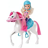Barbie Chelsea Doll & Pony Playset By Mattel