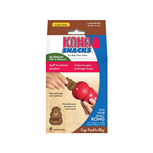 KONG - Snacks - Premi naturali per cani - Biscotti al fegato - Small (per KONG Classic)
