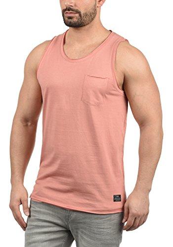 !Solid Andrew Herren Tank Top Mit Rundhalsausschnitt Aus 100% Baumwolle, Größe:XL, Farbe:Rose Dawn (4916)