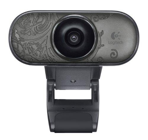 Logitech C210 Webcam schwarz (Mario Super Connect)