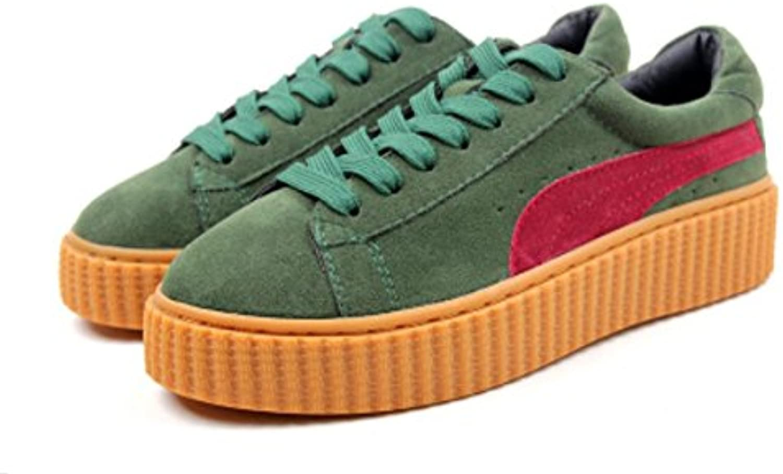 Scarpe XDGG nuovo svago Sport sandali spessi rossoonde delle donne testa di scarpe , verde , 40 | Nuovo Stile  | Uomini/Donna Scarpa