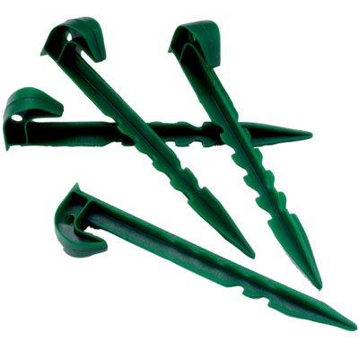 5starwarehouser-10x-plastic-garden-pegs-green-large-multi-purpose-use-weed-guard-fleece-nettings