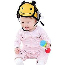 Hotmall Casco de Seguridad para Bebés Sombrero de Seguridad para Niño Cabeza Protector Casquillo Protector de
