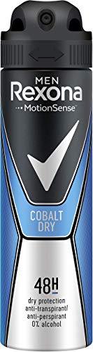 Rexona Men Anti-Transpirant für langanhaltende Frische Cobalt Dry 48-Stunden-Schutz (6 x 150 ml)