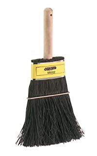 Osborn International 56002SP Stiff Black Bassine Whisk Brush, 9-1/2