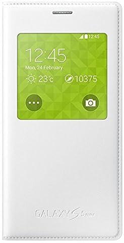 Samsung EF-CG800BW Etui à rabat en néoprène pour Samsung Galaxy S5 Mini Blanc