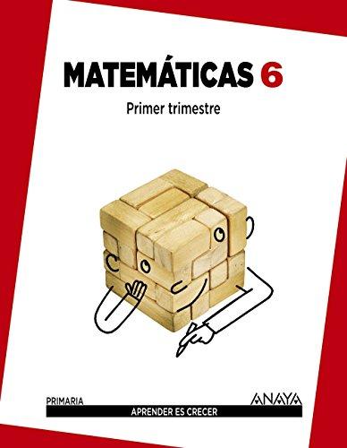 Matemáticas 6. (Aprender es crecer) - 9788467833119 por Luis Ferrero de Pablo