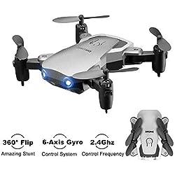 Kyerivs Mini Drone, Helicóptero RC, Quadcopter, 2.4Ghz 6-Axis Gyro 4 Canales Cuadricóptero Gran Elección para Principiantes y Niños