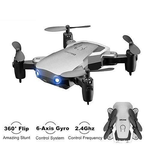 Kyerivs Faltbaren Mini Drohne 2.4GHz 6-Achsen-Gyro RC Quadrocopter die Beste Wahl für Kinder und Anfänger (Ohne Kamera)