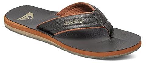 Quiksilver Carver M Sndl Ctk0, Tongs Homme, Marron (Demitasse/Solid), 43