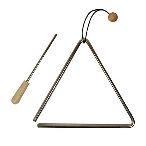 Migma Triangel 20 cm aus Tonstahl - mit Schlaufe und Schlägel