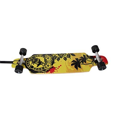 XMJ quattro ruote skateboard Strada Maple Skateboard per adulti per bambini professionale tavola lunga Skateboard , 2