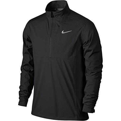 Nike Storm-Fit Dampf 1/2-z Jkt lang Sleeve Jacket, Schwarz/Grau/Silber L Negro/Gris / Plata