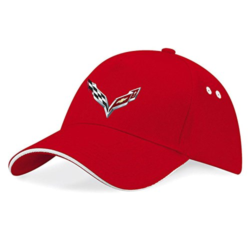 chevrolet-corvette-logo-gm-ricamato-cappellino-da-baseball-k074-rosso