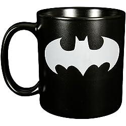Batman 0122040 XXL Taza Símbolo quot, cerámica, negro, aprox. 700 ml, 16 x 11,5 x 13,2 cm.