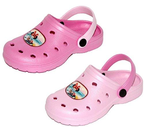 Ciabatte bambina clogs estive minnie topolina - sabot mare sandali bambina modello crocs minnie taglie disponibili dal 32 al 35