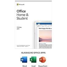 Microsoft Office 2019 Home & Student multilingual | 1 PC (Windows 10) / Mac, Dauerlizenz | Box