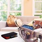Relaxdays-Astuccio-Portapillole-7-Giorni-4-Scomparti-Organizer-Porta-Pastiglie-Medicinali-da-Viaggio-con-Custodia-in-Inglese-PVC-Nero-195-x-135-x-35-cm