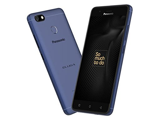 Panasonic Eluga A4 with 5.2-inch display, 5000mAh battery (Blue)