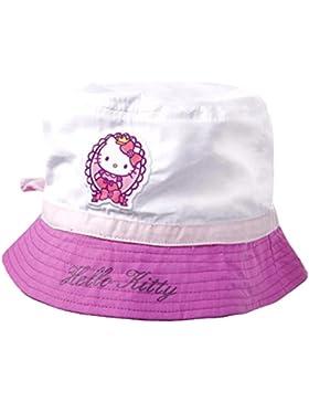 Ciao ragazze Pink & White 100% Cotton 54 centimetri Età: 4-6 Sun cappello rotondo Prodotto concesso in licenza