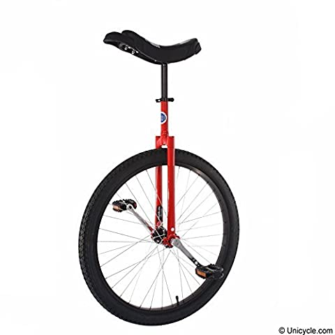 Club 26 Freestyle Unicycle - Red by Unicycle.com