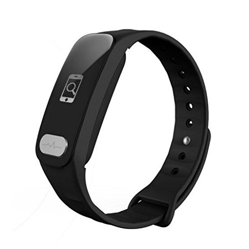 XY&CF Fitness Tracker, EKG + PPG Pulsmesser Blutdruck Sleep Monitor Smart Armband Temperaturmessung und Activity Tracking Pedometer