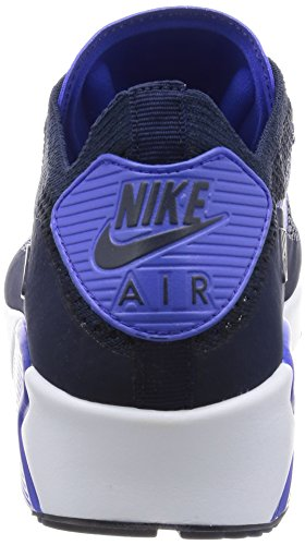 NIKE AIR MAX 90 ULTRA 2.0 FLYKNIT COLLEGE NAVY/PARAMOUNT BLUE