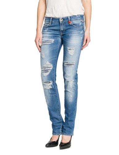 Replay - Jeans Slim - Femme Bleu (Blue Denim)