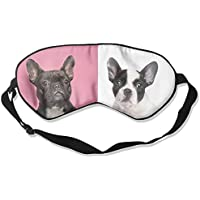 Comfortable Sleep Eyes Masks Two French Bulldogs Pattern Sleeping Mask For Travelling, Night Noon Nap, Mediation... preisvergleich bei billige-tabletten.eu