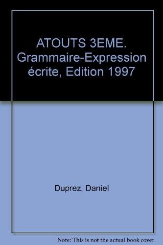 Ato 12 : grammaire et expression, 3e