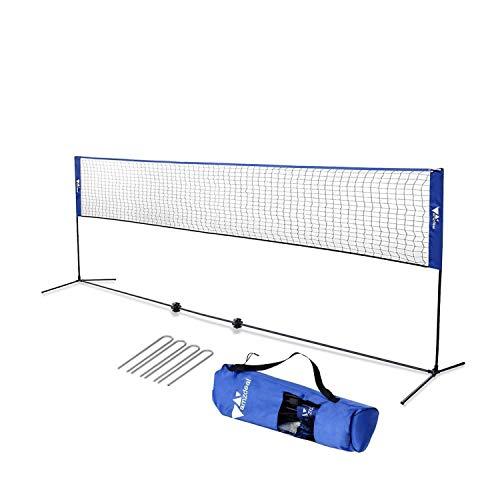 Amzdeal Badminton Netz Tragbares...