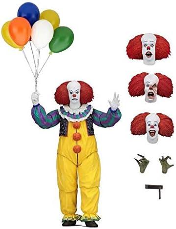 RFJJAL Clown Modèle Caractère Jouet 18CM Clown Retour Soul Poupée/Cadeau Souvenir Collection Artisanat Cadeau De Vacances   Authentique