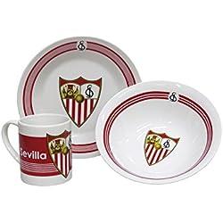Set De Desayuno Porcelana Sevilla FC.