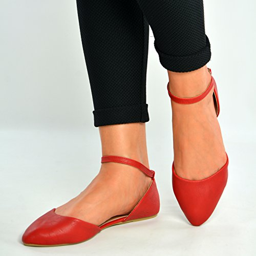 Cucu Fashion ,  Damen Ballett Rot