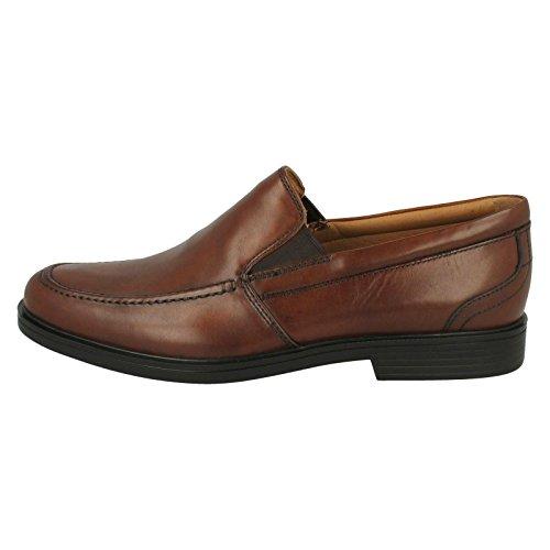 Clarks Sandales Compensées Homme Dark Tan (Brown)