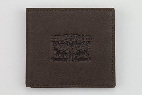 Levi's , Portafogli  Uomo Marrone Brown - Dunkel Braun
