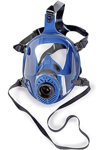 RESTPOSTEN Atemschutzmaske Atemmaske Vollmaske Klasse 2 EN 136 Rundgewindeanschluss Rd40 Normaldruckausführung