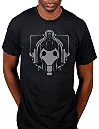 Official Dr Who Cyberman Foil T-Shirt TARDIS Science Fiction Television Series