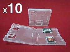 Lot de 10 Boitiers Jeu Nintendo Ds NDS GBA De Remplacement Boite Pochette Cristal