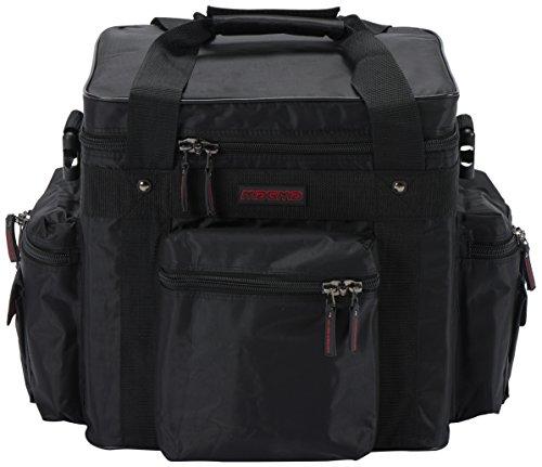 Lp-Tasche Profi 100, schwarz-rot