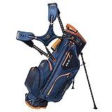 Big Max Dri Lite Hybrid Stand Golf Bag - Noir/Orange