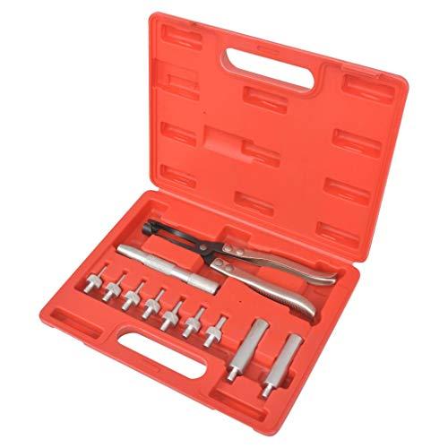 vidaXL Kit d'Outils de Pince du Joint de Soupape Coffret Soupape Véhicule