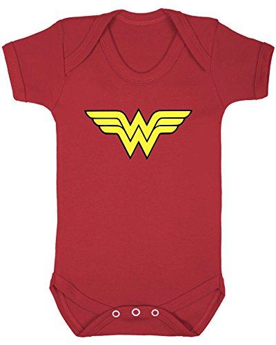Wonder Woman Logo Baby Vest