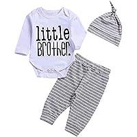 c553dbfef Conjuntos para Bebe Niños Manga Largas Otoño 2018 PAOLIAN Ropa de Monos o  Camisetas y Pantalones